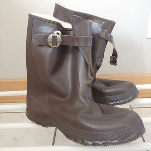 Acton Rubber Work Overshoes Size 8